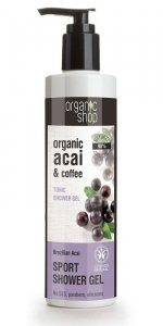 Organic Shop Żel pod prysznic Tonizujący Brazylijskie jagody Acai