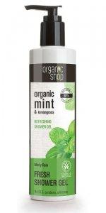 Organic Shop Żel pod prysznic Odświeżający Miętowy deszcz
