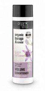 Organic Shop Odżywka do włosów Maksymalna Objętość Skarby Sri Lanki