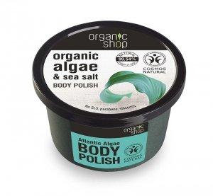 Organic Shop Peeling do ciała Atlantyckie Algi 250 ml