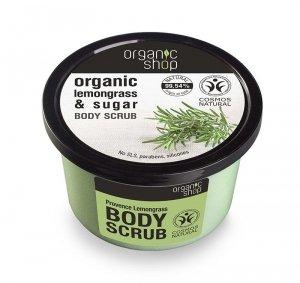 Organic Shop Peeling do ciała Trawa cytrynowa i cukier 250 ml