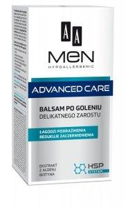 AA Men Adventure Care Balsam po goleniu delikatnego zarostu  100ml