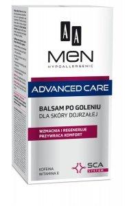 AA Men Adventure Care Balsam po goleniu dla skóry dojrzałej  100ml