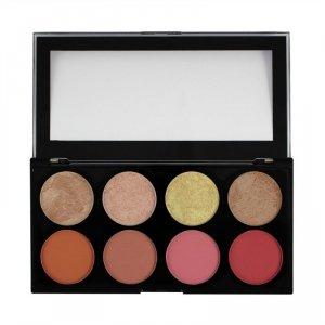 Makeup Revolution Ultra Blush Palette 8 Zestaw róży do policzków Blush Goddess 13g