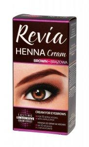 Verona Revia Henna do brwi w kremie Brązowa  15ml