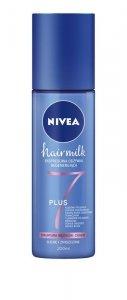 NIVEA Hair Milk Expresowa Odżywka - spray do włosów cienkich,suchych i zniszczonych 200ml