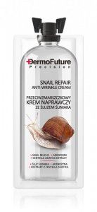 Dermofuture Precision Przeciwzmarszczkowy krem naprawczy ze śluzem ślimaka  12ml-saszetka
