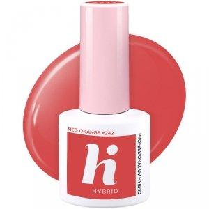 Hi Hybrid Lakier hybrydowy nr 242 Red Orange  5ml