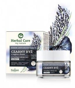 Farmona Herbal Care Krem detoksykujący Czarny Ryż na dzień i noc  50ml