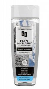 AA Carbon & Clay Płyn micelarny do demakijażu z węglem japońskim - każdy rodzaj cery  200ml