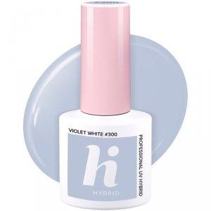 Hi Hybrid Lakier hybrydowy Unicorn nr 300 Violet White  5ml
