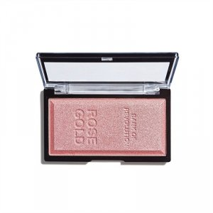 Makeup Revolution Rozświetlacz Rose Gold Ingot, 12 g