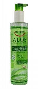 Equilibra Aloe Żel micelarny oczyszczający do demakijażu 20% aloesu  200ml