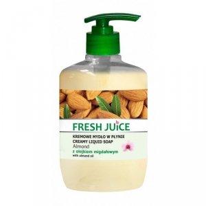 Fresh Juice Kremowe Mydło w płynie Almond z olejkiem migdałowym  460ml
