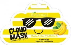 Bielenda Cloud Mask Bąbelkująca Maseczka nawilżająca Banana Cabana  6g