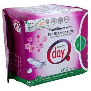Gentle Day Wkładki Pochłaniające Wilgoć Eco 20Szt.
