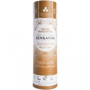 Ben&Anna Naturalny Dezodorant Indian Mandarine 60G