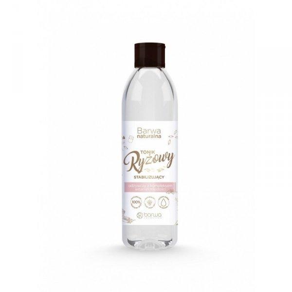 BARWA Naturalna Tonik Ryżowy do twarzy stabilizujący-każdy rodzaj cery  300ml