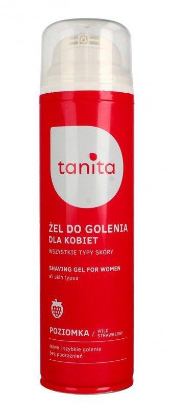 Tanita Żel do golenia dla kobiet Poziomka  200ml