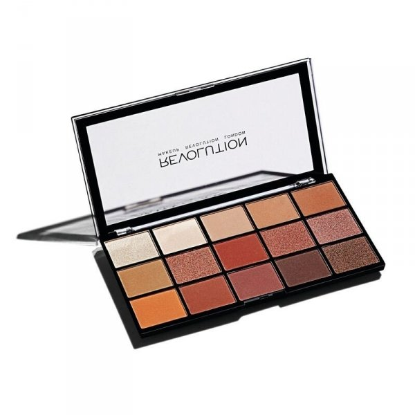 Makeup Revolution Paleta cieni do powiek Reloaded Palette Iconic Fever 1szt