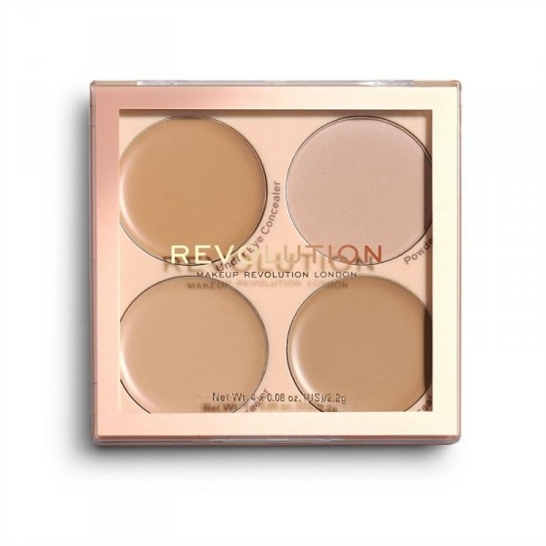 REVOLUTION Matte Base Concealer Kit C5-C8
