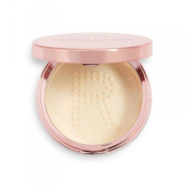 Makeup Revolution Conceal & Fix Setting Powder Puder sypki Light Yellow 13g