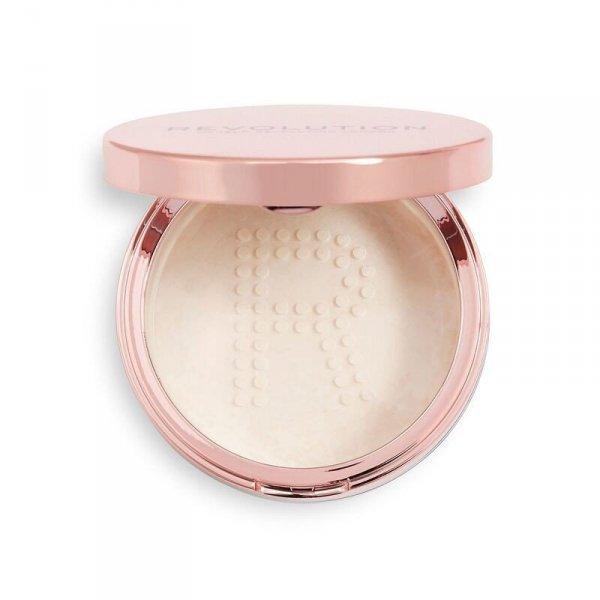 Makeup Revolution Conceal & Fix Setting Powder Puder sypki Light Lavender 13g