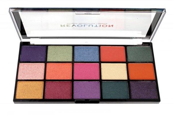 Makeup Revolution Paleta cieni do powiek Reloaded Passion for Colour (15) 1szt
