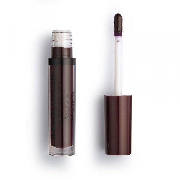 Makeup Revolution Plum 148 Pomadka do ust w płynie Sheer Brillant  1szt