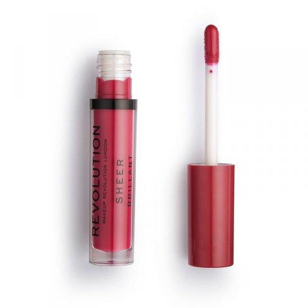 Makeup Revolution Rouge 141 Pomadka do ust w płynie Sheer Brillant  1szt