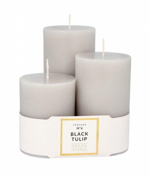 ARTMAN Świeca zapachowa Glass Classic Perfume nr 6 Black Tulip  1op.-3szt