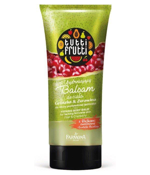 Farmona Tutti Frutti Balsam do ciała ujędrniający Gruszka & Żurawina   200ml