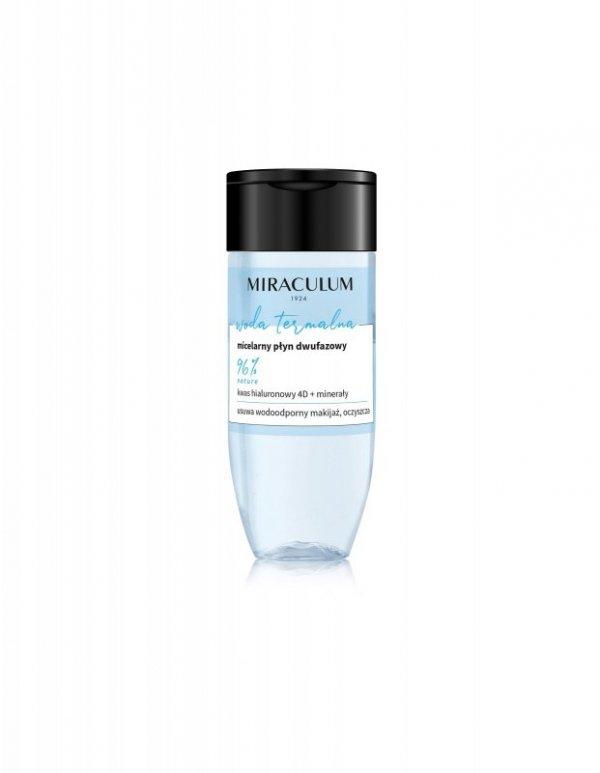Miraculum Woda Termalna Płyn micelarny dwufazowy do demakijażu  125ml