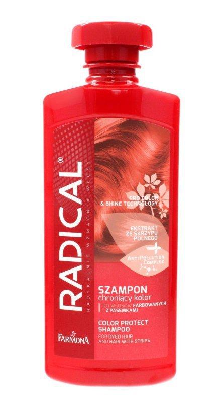 Farmona Radical Szampon chroniący kolor do włosów farbowanych i z pasemkami  500ml