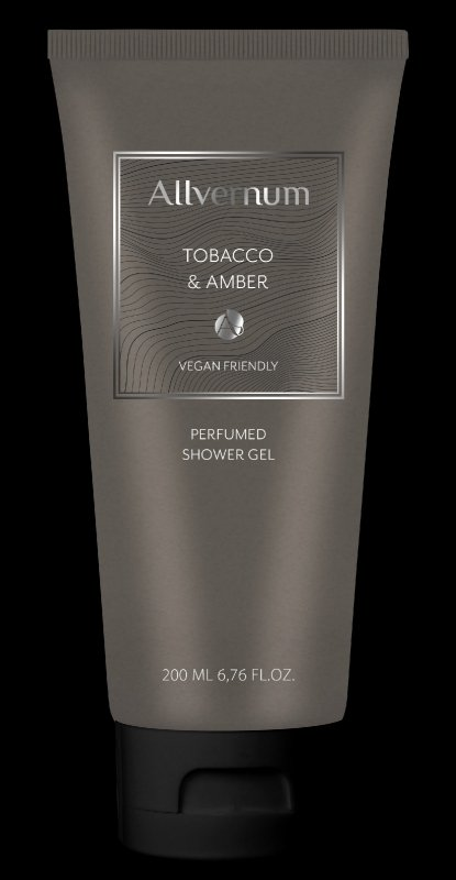 Allvernum Men Żel pod prysznic pefumowany Tobacco & Amber  200ml
