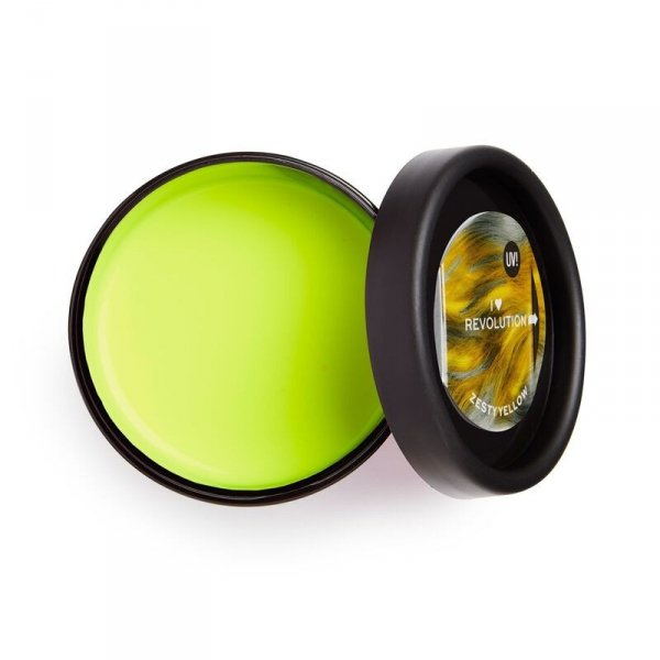 I Heart Revolution Neon UV Hair Make Up Pasta koloryzująca do włosów Zasty Yellow (żółta)  70ml