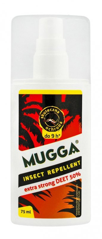 MUGGA Spray-mgiełka przeciw owadom extra strong (50% DEET)  75ml