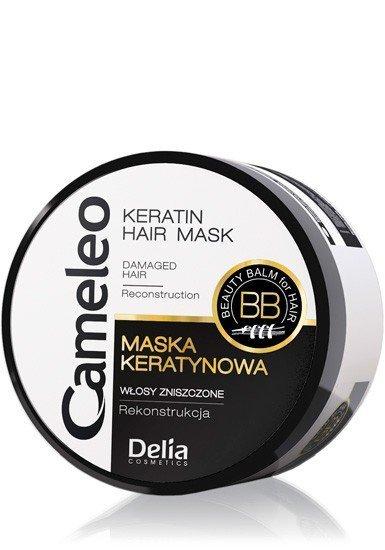 Delia Cosmetics Cameleo BB Maska keratynowa do włosów Mini 50ml