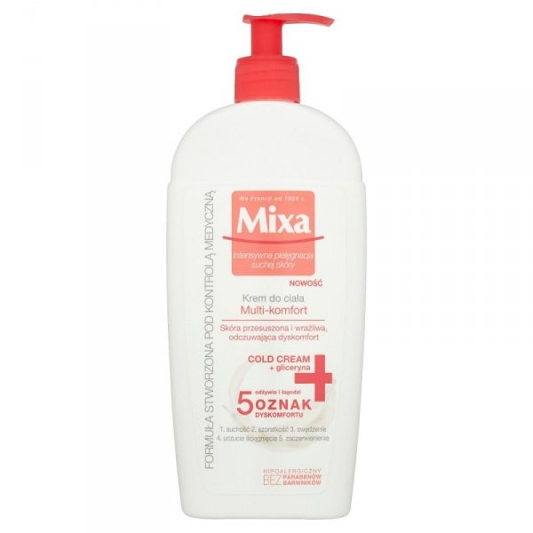 Mixa Cold Cream Krem do ciała Multi-Komfort  400ml