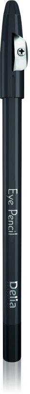 Delia Cosmetics Eye Pencil Kredka do oczu z temperówką czarna  1szt