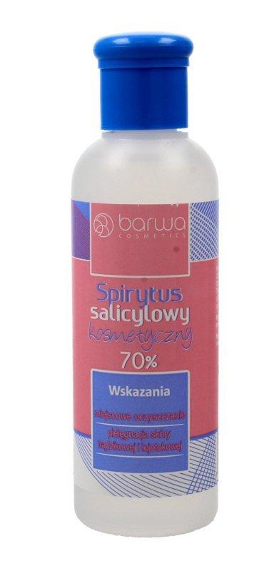 BARWA Spirytus salicylowy kosmetyczny 70%  100ml