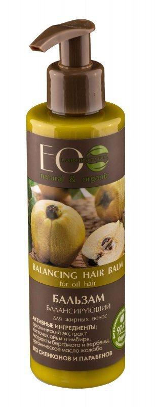 EOLaboratorie Hair Balm Balsam przywracający równowagę do włosów przetłuszczających  200ml