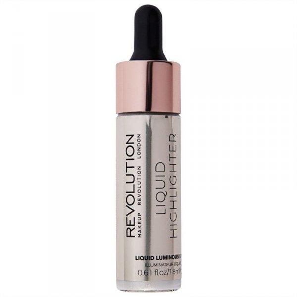 Makeup Revolution Liquid Highlighter Rozświetlacz w płynie Luminous Luna  18ml