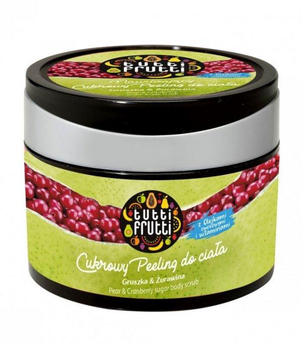 Farmona Tutti Frutti Peeling cukrowy do ciała Gruszka & Żurawina  300g