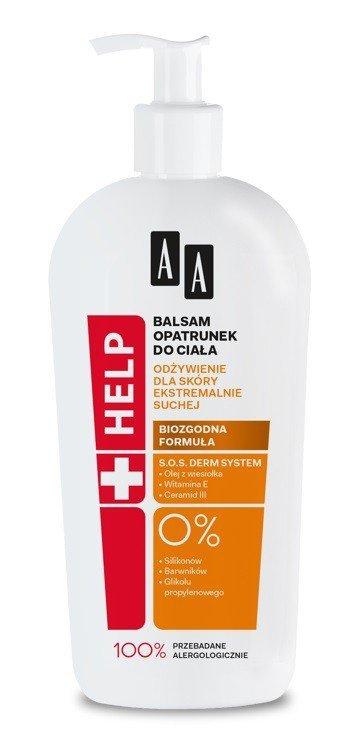 AA HELP Balsam-opatrunek do ciała  - skóra ekstremalnie sucha  400ml