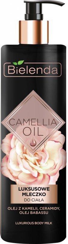 Bielenda Camellia Oil Luksusowe Mleczko do ciała  400ml