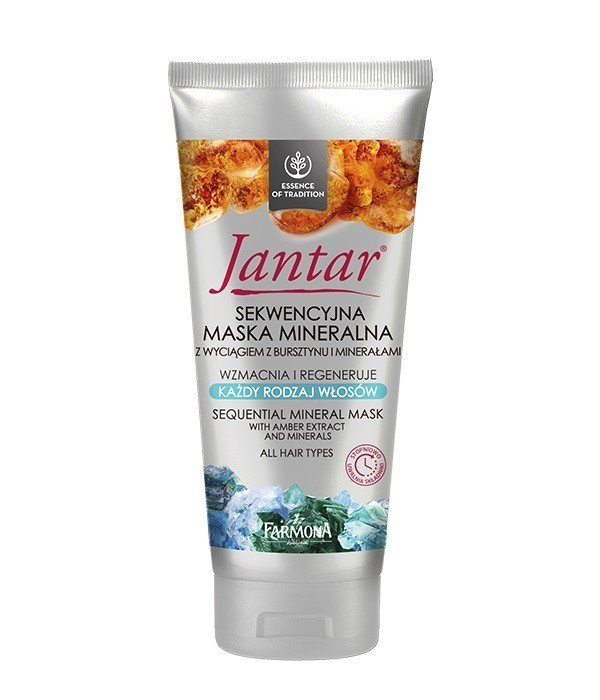 Farmona Jantar Sekwencyjna Maska mineralna - każdy rodzaj włosów  200ml