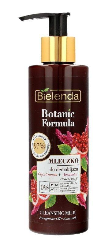 Bielenda Botanic Formula Olej z Granatu+Amarantus Mleczko odżywcze do demakijażu  200ml