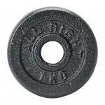 OBCIĄŻENIE ALLRIGHT CZARNE 1kg