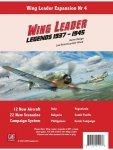 Wing Leader Expansion #4: Legends 1937-1945